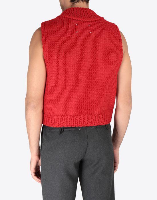 MAISON MARGIELA A/W18-19 Défilé symbol sleeveless pullover Sweatshirt [*** pickupInStoreShippingNotGuaranteed_info ***] e