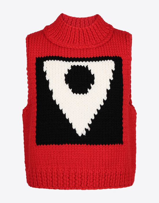 MAISON MARGIELA A/W18-19 Défilé symbol sleeveless pullover Sweatshirt [*** pickupInStoreShippingNotGuaranteed_info ***] f
