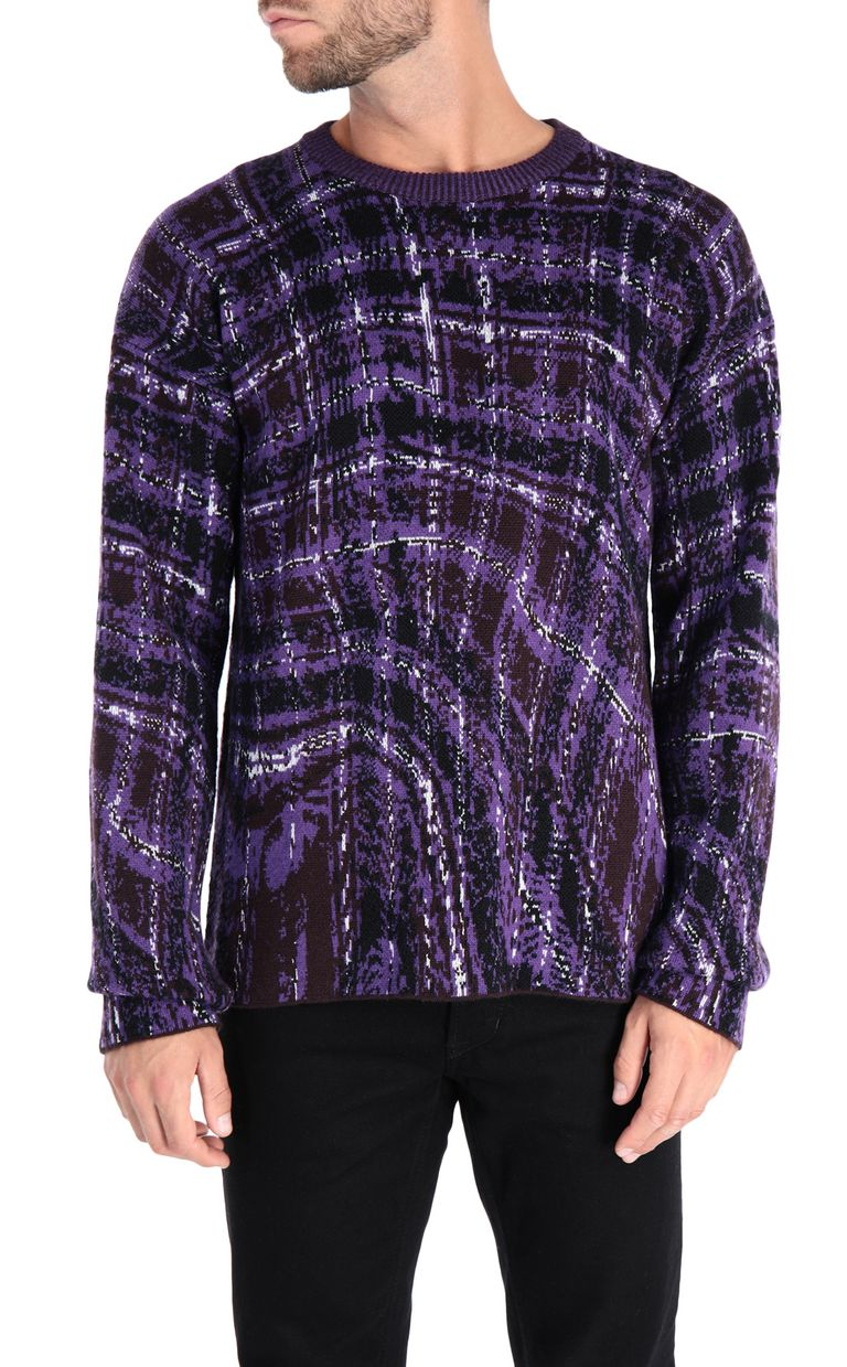 JUST CAVALLI Long-sleeve crew-neck pullover Crewneck sweater Man f