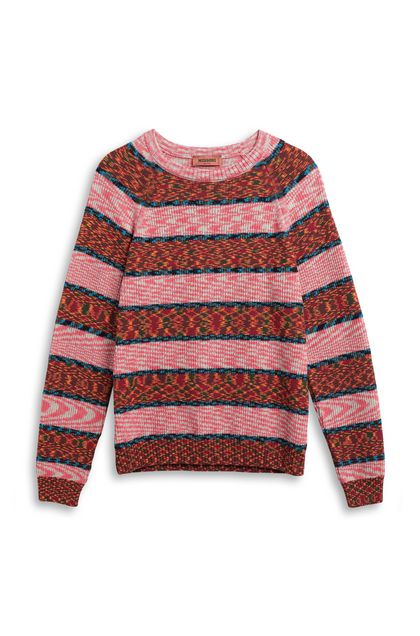 MISSONI Jumper Brick red Man - Back