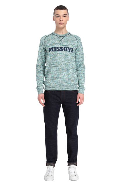 MISSONI Jumper Green Man - Front