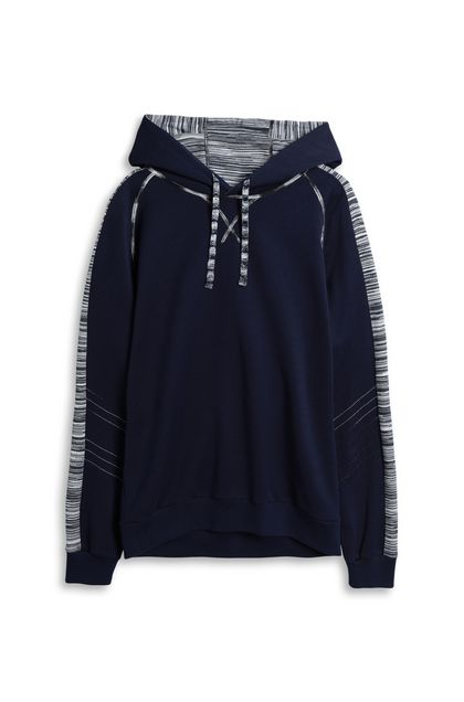 MISSONI Jumper Dark blue Man - Back