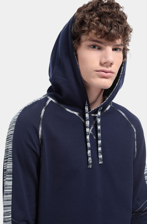 MISSONI Sweater Dark blue Man