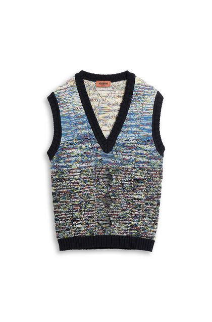 MISSONI Vest White Man - Back
