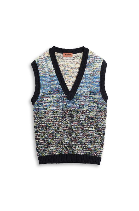 MISSONI Vest White Man