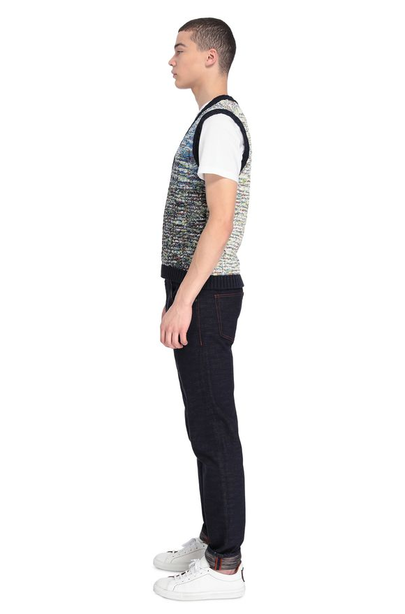MISSONI Vest Man, Side view