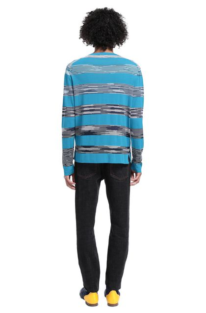 MISSONI Crew-neck Azure Man - Front