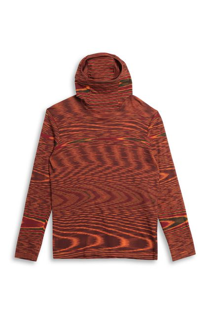 MISSONI Jumper Orange Man - Back