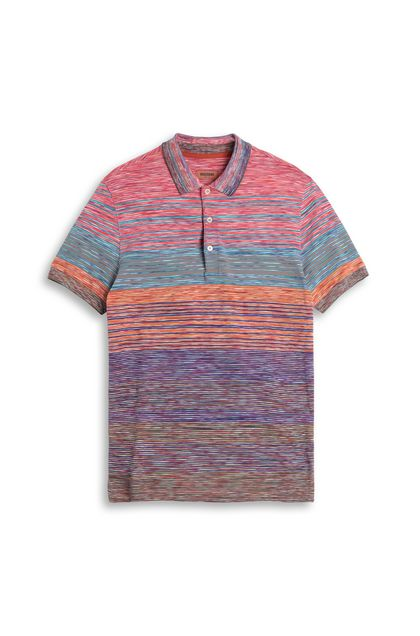 MISSONI Men's polo Fuchsia Man - Back