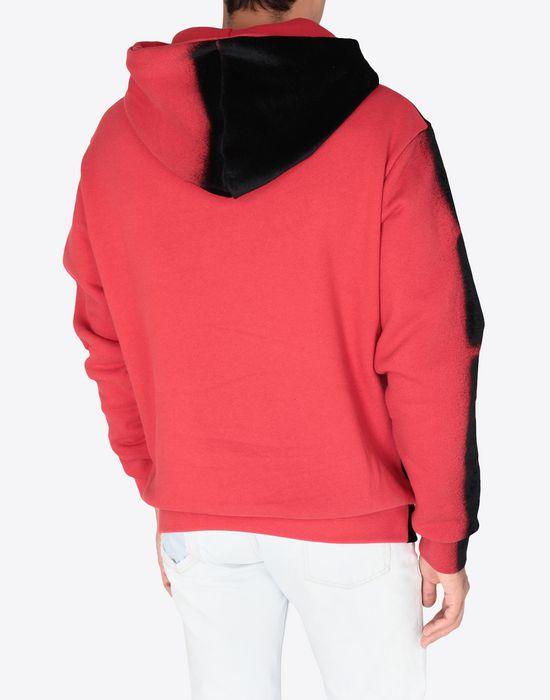 MAISON MARGIELA Paintbrush print hooded sweatshirt Sweatshirt [*** pickupInStoreShippingNotGuaranteed_info ***] e