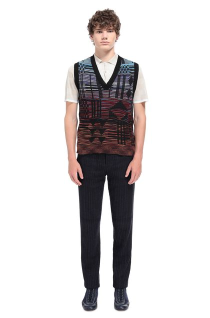 MISSONI Vest Black Man - Front