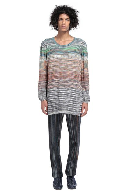 MISSONI Sweater Orange Man - Front