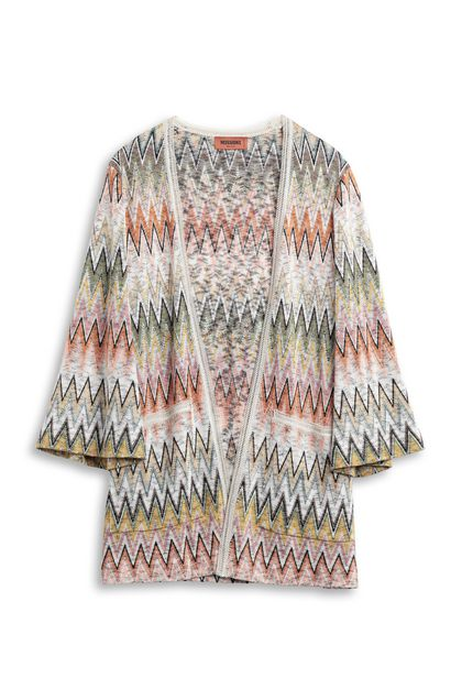 MISSONI Cardigan Orange Woman - Back