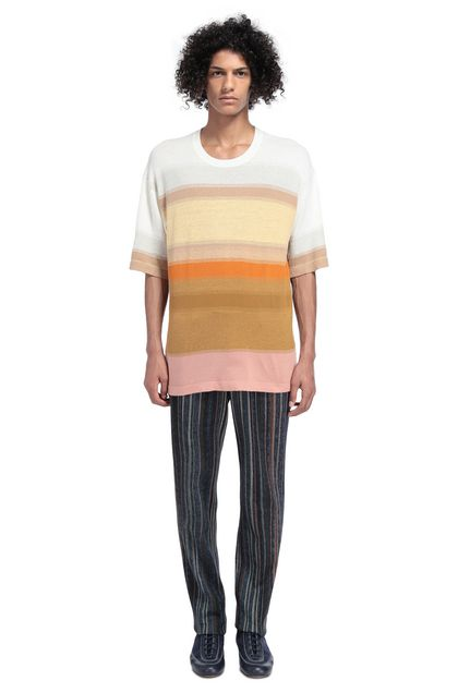 MISSONI Men's T-Shirts Beige Man - Front