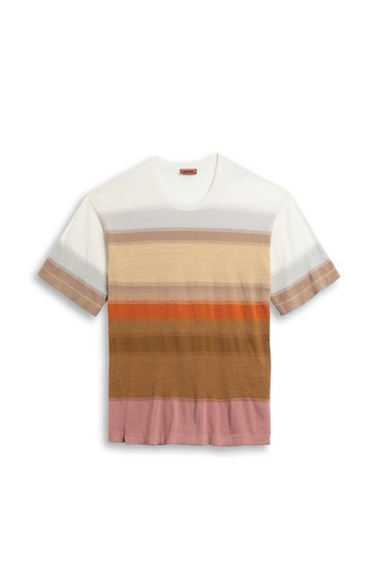 MISSONI Men's T-Shirts Beige Man - Back