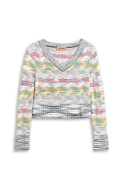 MISSONI Jumper White Woman - Front
