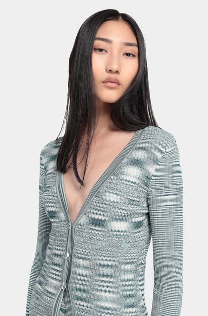 MISSONI Cardigan Green Woman - Back