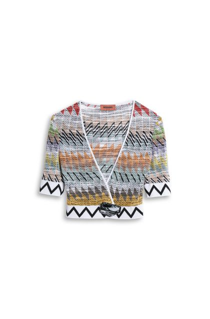 MISSONI Cardigan White Woman - Back