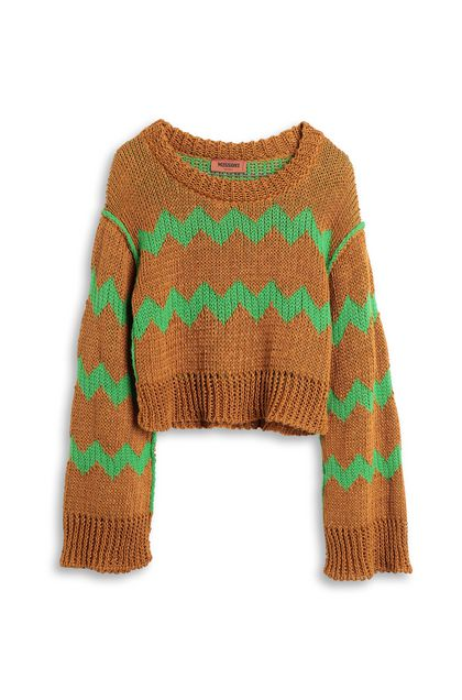 MISSONI Jumper Camel Woman - Back