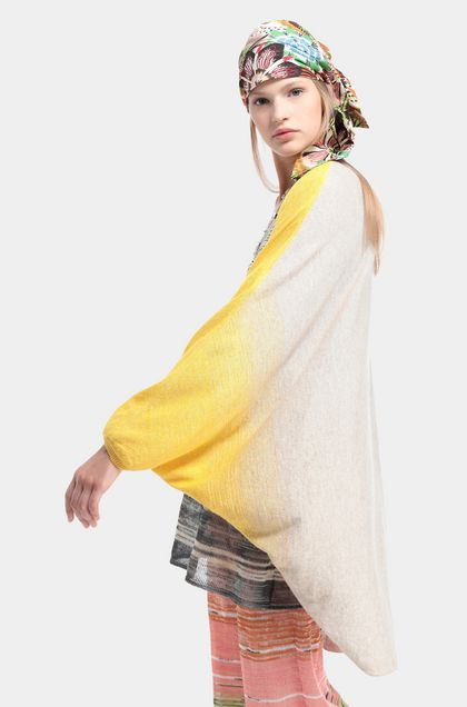 MISSONI Cardigan Yellow Woman - Back