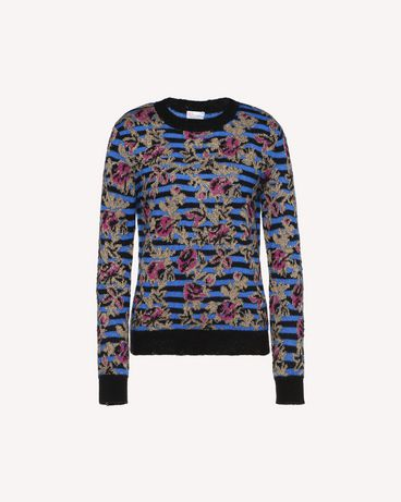 REDValentino QR0KC0A9466 PN0 Knit Sweater Woman a