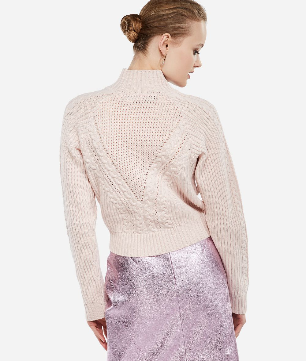KARL LAGERFELD Karl x Kaia Cropped-Pullover Pullover Damen d