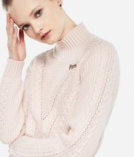 KARL LAGERFELD Karl x Kaia Cropped-Pullover 9_f
