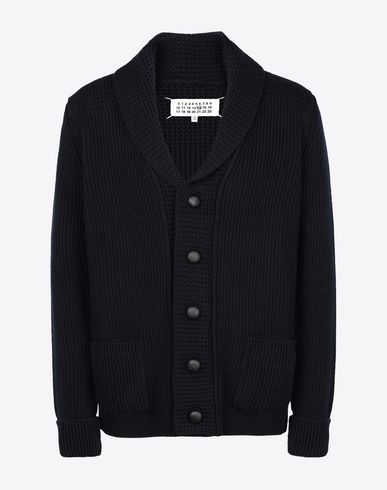 MAISON MARGIELA Cardigan Man Wool knit cardigan f
