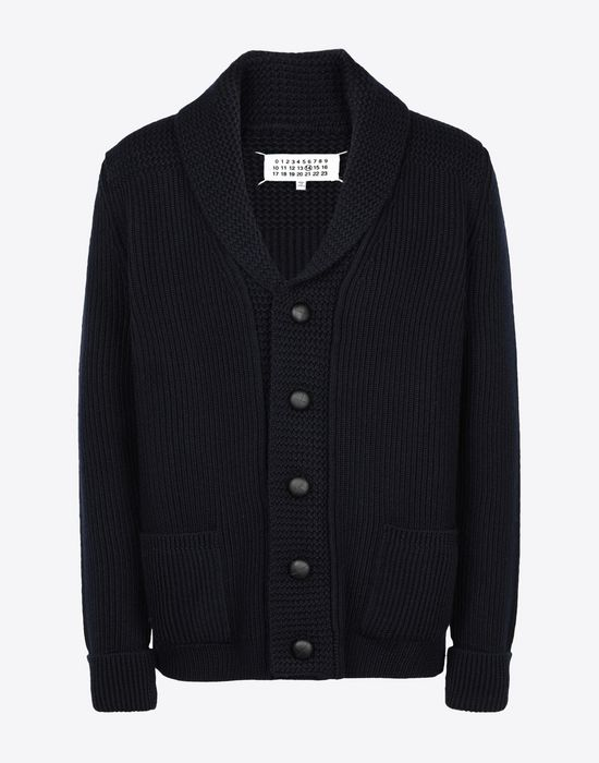 MAISON MARGIELA Wool knit cardigan Cardigan [*** pickupInStoreShippingNotGuaranteed_info ***] f