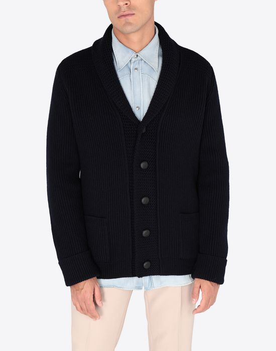 MAISON MARGIELA Wool knit cardigan Cardigan [*** pickupInStoreShippingNotGuaranteed_info ***] r
