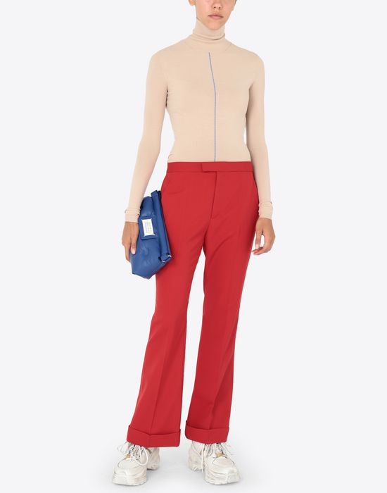 MAISON MARGIELA Stocking seam pullover Long sleeve sweater [*** pickupInStoreShipping_info ***] d
