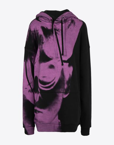 MAISON MARGIELA Sweatshirt Woman Oversized printed sweatshirt f
