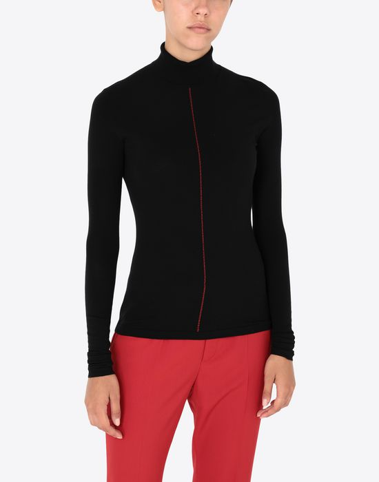 MAISON MARGIELA Stocking seam pullover Long sleeve sweater [*** pickupInStoreShipping_info ***] r