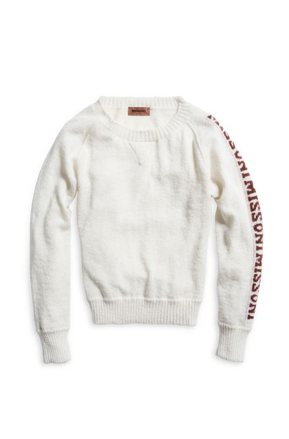MISSONI Crew-neck Ivory Woman - Back