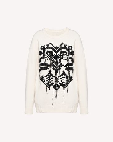 REDValentino QR0KC1E044Y E01 Knit Sweater Woman a