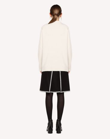 REDValentino QR0KC1E044Y E01 Knit Sweater Woman r