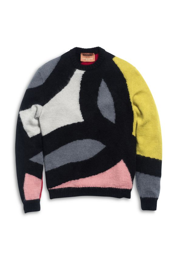 MISSONI Crew-neck Black Man