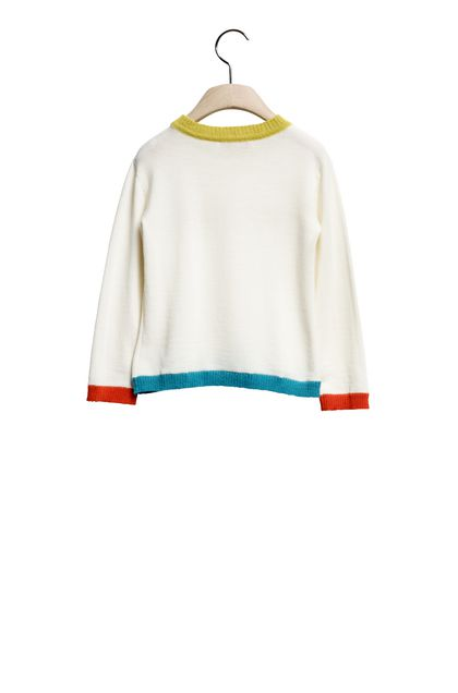MISSONI KIDS Crew-neck Ivory Woman - Front