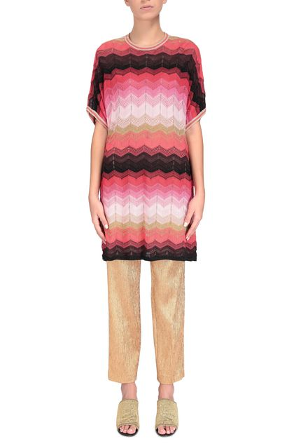 M MISSONI Jumper Red Woman - Back