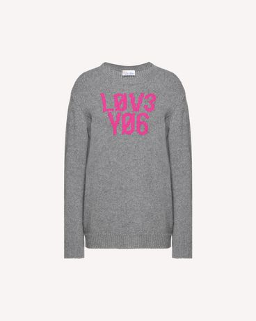 REDValentino QR0KC1E3453 080 Knit Sweater Woman a