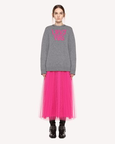 REDValentino QR0KC1E3453 080 Knit Sweater Woman f