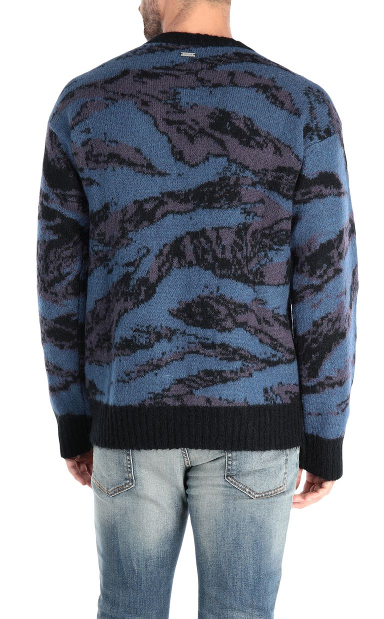 JUST CAVALLI Long-sleeve jacquard pullover Sweater Man d