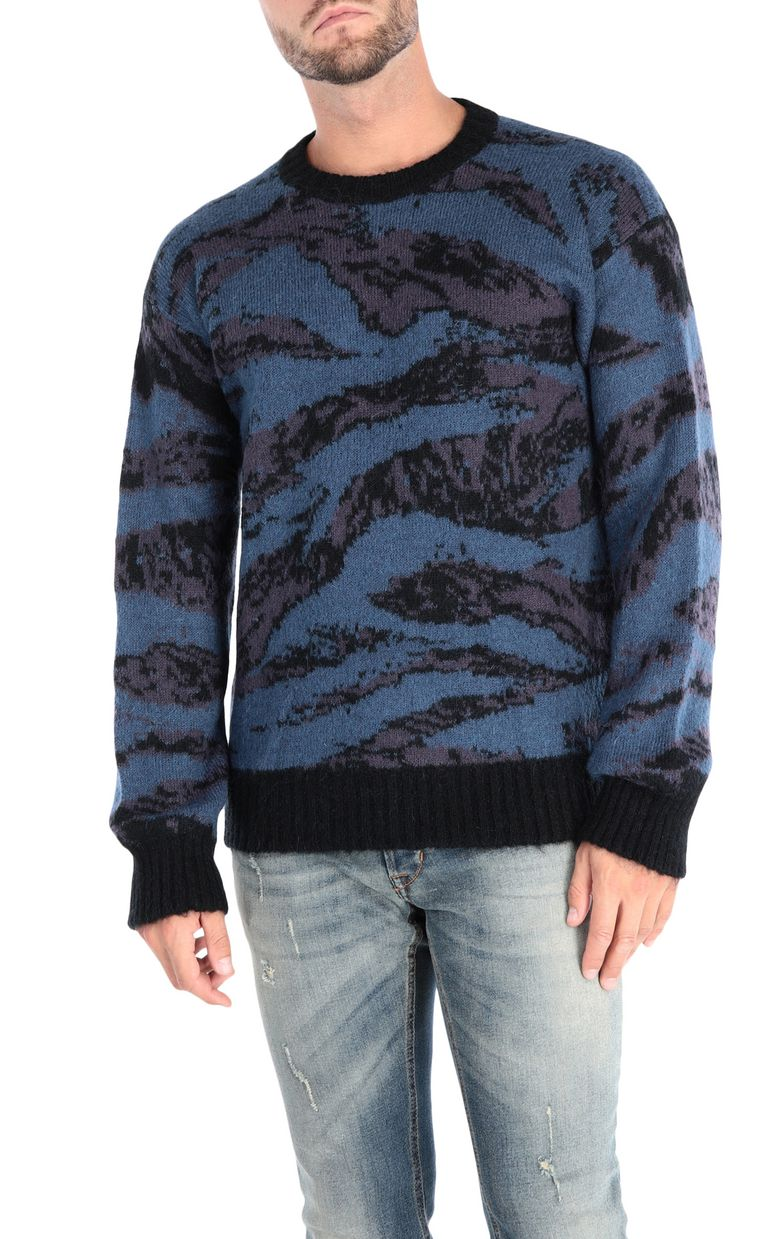 JUST CAVALLI Long-sleeve jacquard pullover Sweater Man f