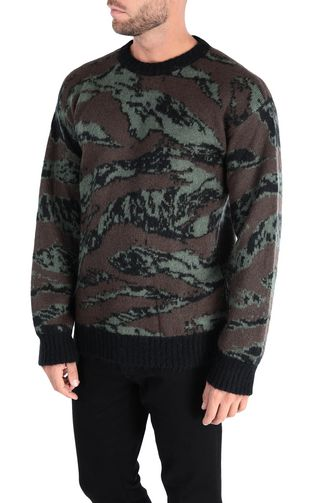 JUST CAVALLI Sweater [*** pickupInStoreShippingNotGuaranteed_info ***] Long-sleeve jacquard pullover f