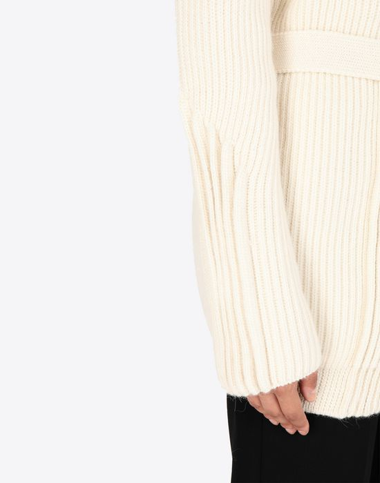 MAISON MARGIELA Wrap wool cardigan Cardigan [*** pickupInStoreShipping_info ***] b