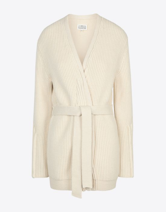 MAISON MARGIELA Wrap wool cardigan Cardigan [*** pickupInStoreShipping_info ***] f