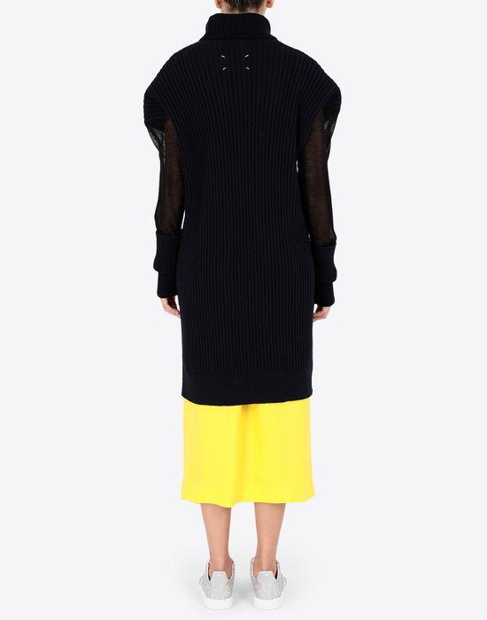 MAISON MARGIELA Long sweater with mesh sleeves High neck sweater [*** pickupInStoreShipping_info ***] e