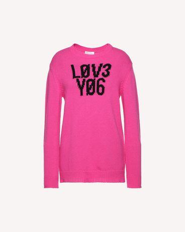 REDValentino QR0KC1E3453 FA9 Knit Sweater Woman a