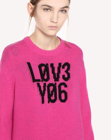 REDValentino QR0KC1E3453 FA9 Knit Sweater Woman e