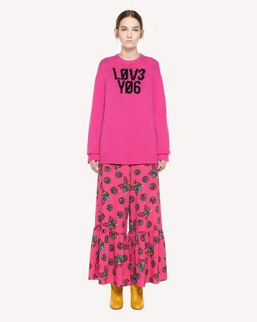REDValentino QR0KC1E3453 FA9 Knit Sweater Woman f